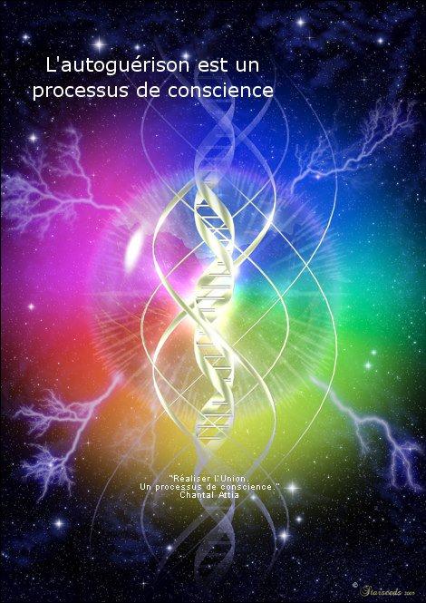 La guérison est un processsus de conscience