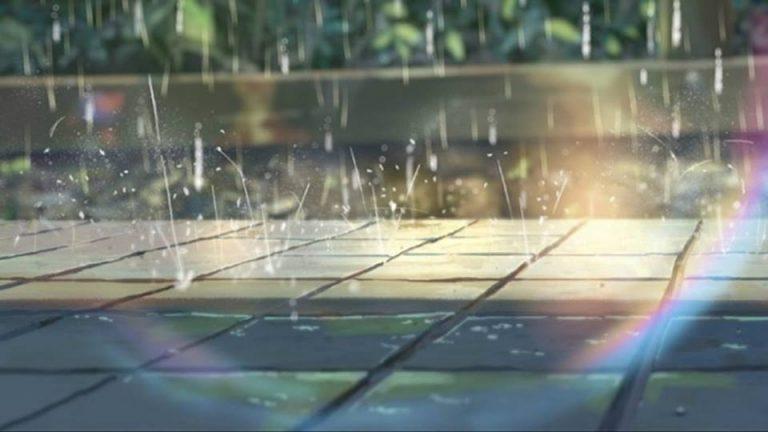 Après la pluie le beau temps, arc en ciel
