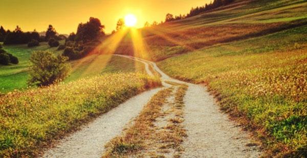 lumiere au bout du chemin bien-être